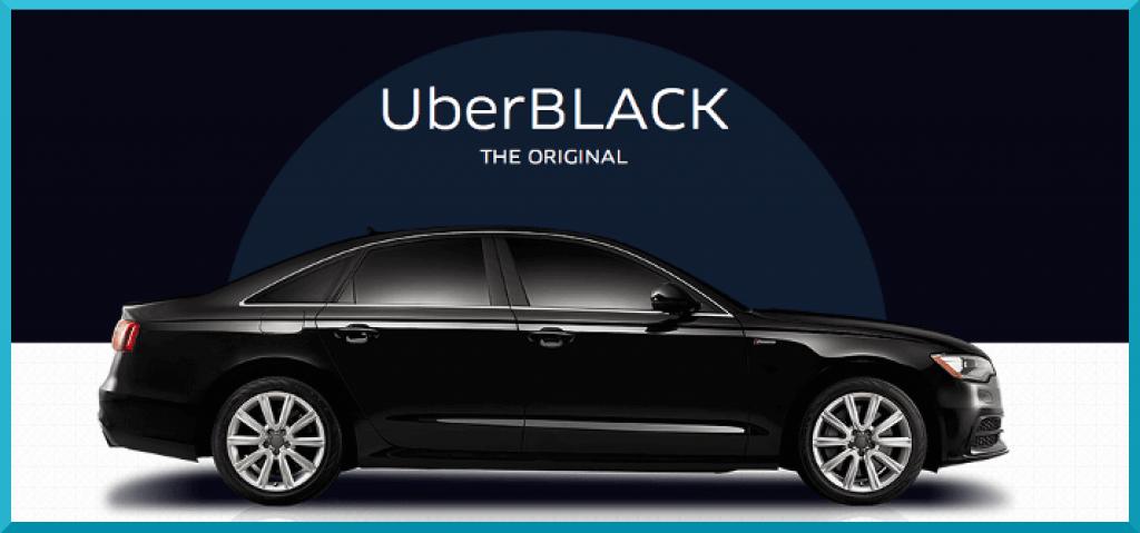 Uber Car Types: uberBLACK