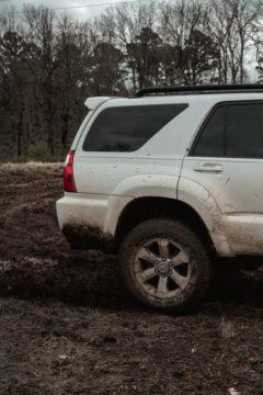 how to get car out of mud