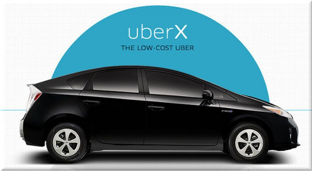 Uber Car Types: uberx