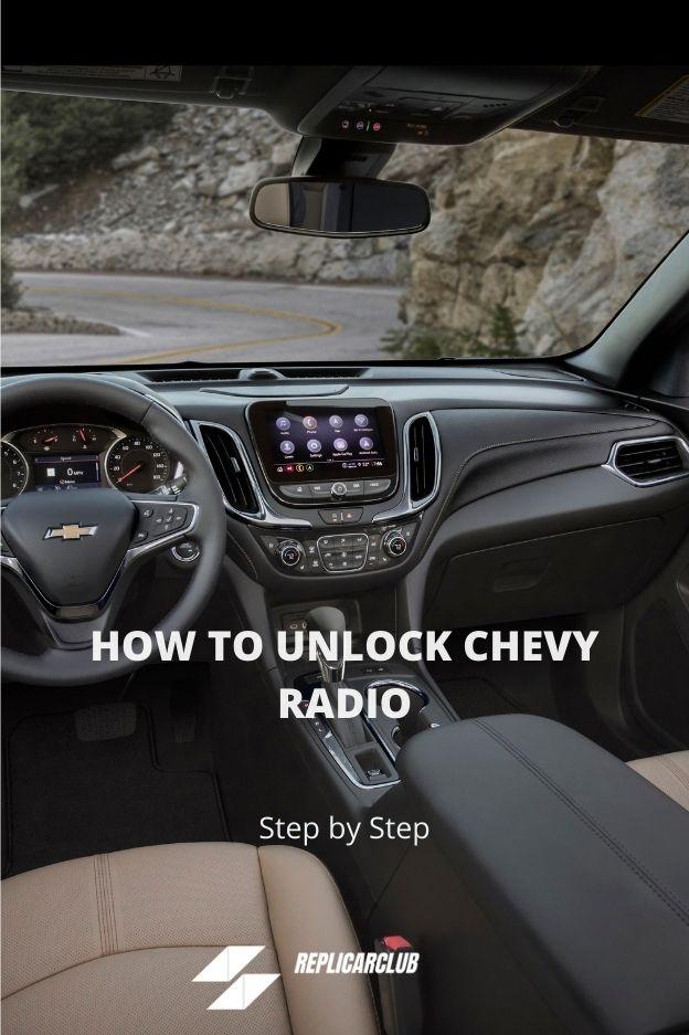 HOW TO UNLOCK CHEVY RADIO