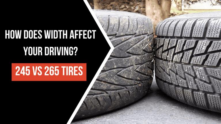 245 Vs 265 Tires