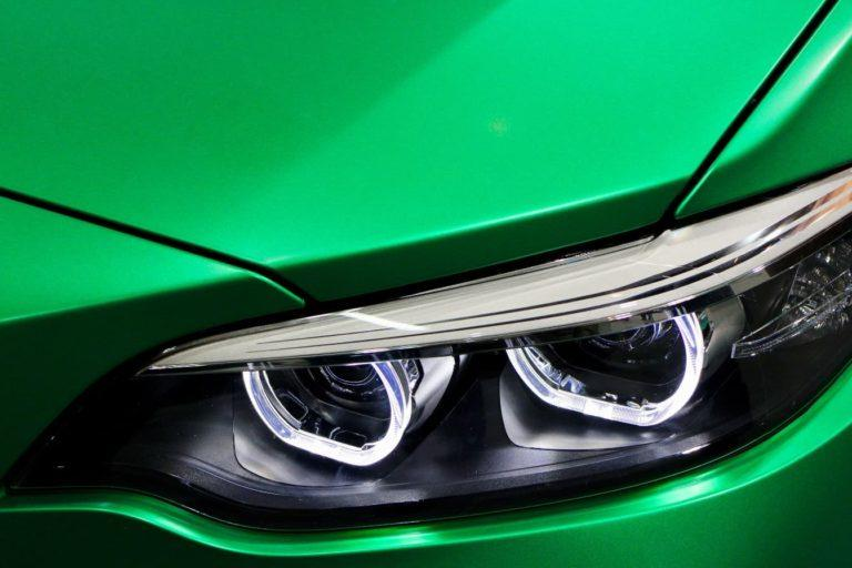 How to clean headlights with wd40