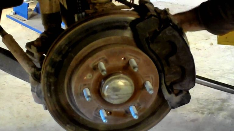 How To Replace Front Wheel Bearing Chevy Silverado 4x4